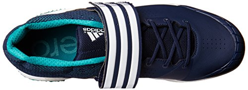 Adidas Performance Adizero Javelin Laufschuh Collegiate Navy/White/Green