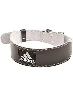 adidas Cinturón de cuero para levantamiento de pesas - L/XL