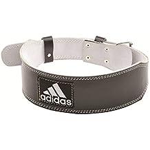 adidas ADGB-12235 Cinturón para Levantamiento de Pesas, Negro, L/XL