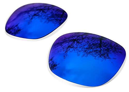 sunglasses restorer Kompatibel Ersatzgläser für Oakley Holbrook, Polarisierte Blue Mirror Linsen