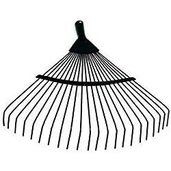 Râteaux, rame de fer de râteau de fer de r implantation agricole for ratisser les feuilles, feuilles de jardinage pelouse Home Huaping Désherbage, Herse à dents dure en acier de haute qualité 22 --40
