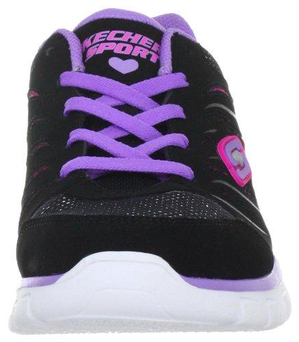 Skechers Synergy 80885L, Sneaker ragazza Schwarz (BPPK)