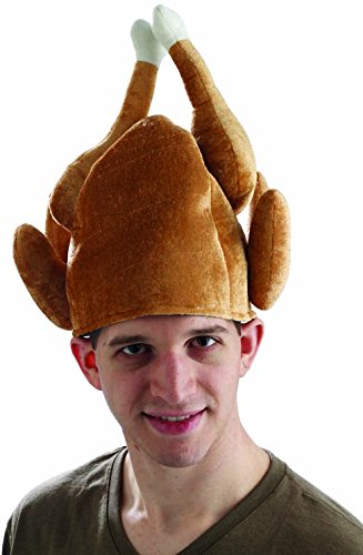 Roast Turkey Hat - Roast Turkey Hut für Thanksgiving-Ferien-Kostüm (Jive Kostüm)