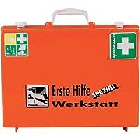 Söhngen 0360111 Erste-Hilfe-Koffer SPEZIAL, Werkstatt, B 40 x H 30 x T 15 cm, orange preisvergleich bei billige-tabletten.eu