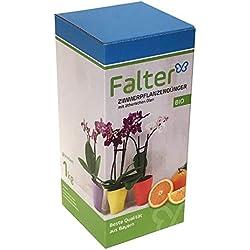 Falter Zimmerpflanzendünger - Bio-Langzeitdünger mit angenehmen Orangenaroma - perfekt als Orchideendünger, für Bonsai & Drachenbaum - Pflanzendünger - Blumendünger - Qualitätsprodukt aus Bayern - 1kg granuliert