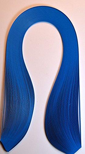 Quilling Papierstreifen breit 5mm /420mm lang, 125 Stück, Farbe dunkelblau