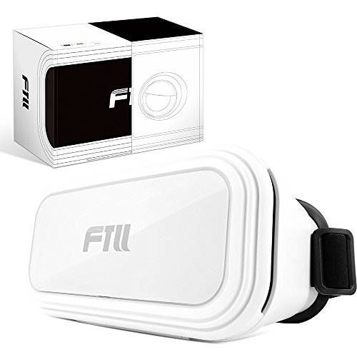 FTLL 3D VR Brille Virtual Reality Headset Box für iPhone 6/ 6s plus iphone 7/7 plus Samsung Galaxy S4/5/6/7/C5/7/A3/7/5/9 Edge Note 4/5/6/7 LG G5 / SONY Experia T2 Ultra / Xperia Z3 + / MOTO Nexus 6 / HTC One Max / Desire 816 / Un M9 / android and ios