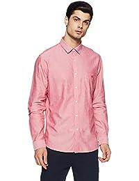 Van Heusen Sport Men's Plain Slim Fit Cotton Casual Shirt