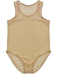 YiZYiF Body Débardeur Sexy Lingerie Transparent, sous-vêtements Hommes ... 1bac41f28422
