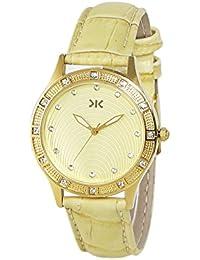 Killer Analog Gold Dial Women's Watch-KLW552B