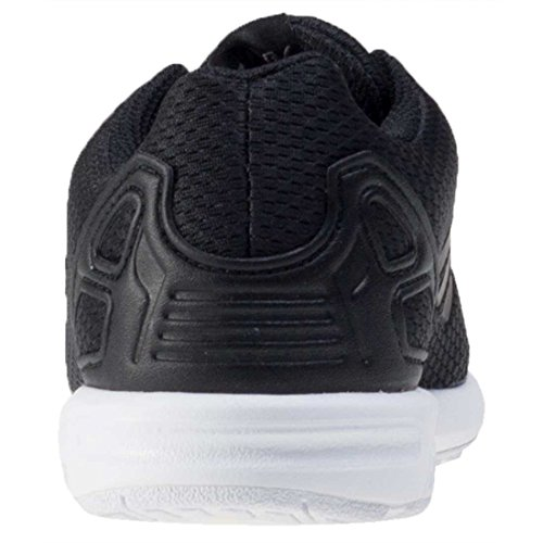 adidas Zx Flux, Sneakers Basses Mixte Enfant Noir (Core Black/core Black/ftwr White)