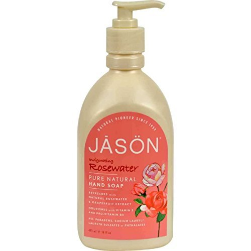 Jason Natural Invigorating Rosewater Hand Soap