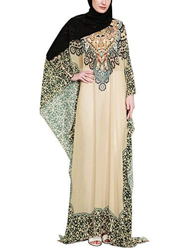 Caftan Mujer - Vestidos de los Arabes Abaya Dubai Largo Elegantes Gasa