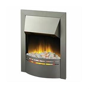 Dimplex DKT20 Dakota Electric Flame Effect Fire in Stainless Steel