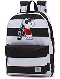 Vans Peanuts Realm Backpack Mochila tipo casual, 42 cm, 22 liters