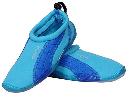Brugi Brugi 2SA9 Badeshuhe Surfshuhe Wassersportshuhe Sailing Aquashuhe (türkis, 35)