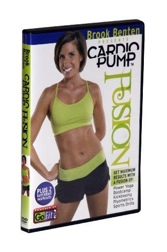 GoFit Brook Benton Cardio Pump Kugelhantel-Workout-DVD, 75 Minuten - Weiß, 13,97 x 1,27 x 19,05 cm (Brooks Benton)