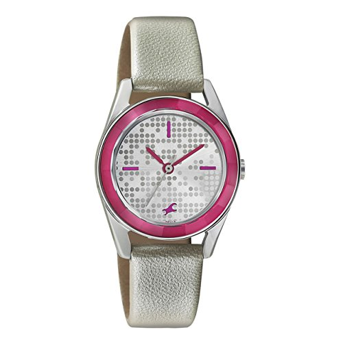 41qhH3 5fxL - 6144SL01 Fastrack Girls Leather watch