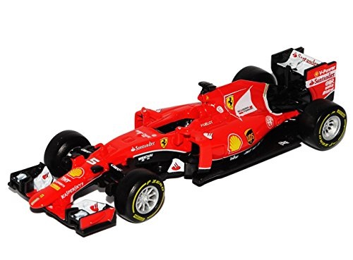 alles-meine.de GmbH Ferrari SF15-T Sebastian Vettel Nr 5 Formel 1 2015 1/43 Bburago Modell Auto