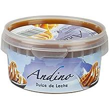 Crema de caramelo de leche, lata de plástico 250g - Dulce de Leche ANDINO 250g