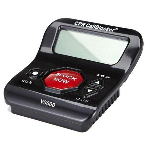 CPR Call Blocker V5000 - Affichage de l'appelant - 1500 Nombre Capacité - bloquer tous les appels de nuisance
