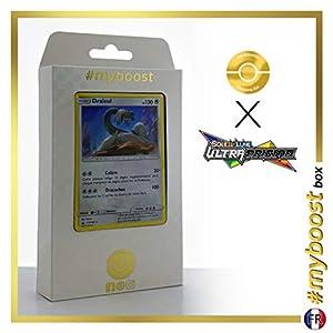 Draïeul (Drampa) 117/156 Holo - #myboost X Soleil & Lune 5 Ultra-Prisme - Box de 10 Cartas Pokémon Francés