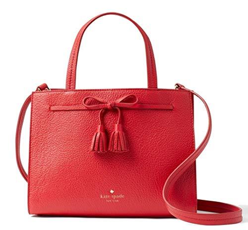 Kate Spade New York Hayes Street Sam Leather Bag, Royal Red