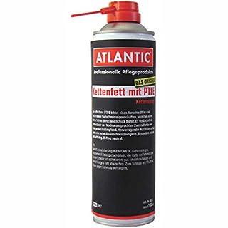 Atlantic Kettenfett mit PTFE Spraydose mit Schnorchel 500ml Fahrrad