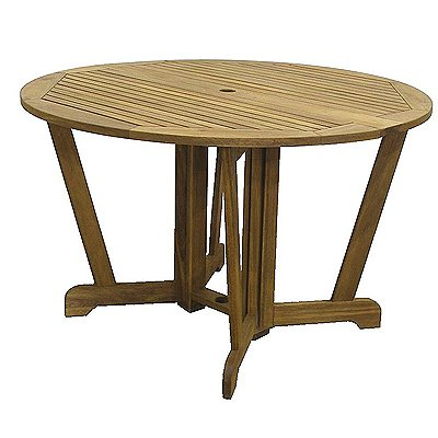 Royalcraft 110113 Henley 150-Round Gateleg Hardwood Garden Table with Lazy Susan produced by royalcraft - quick delivery from UK.