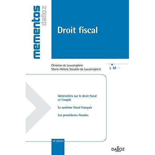 Droit fiscal - 14e éd.: Mémentos