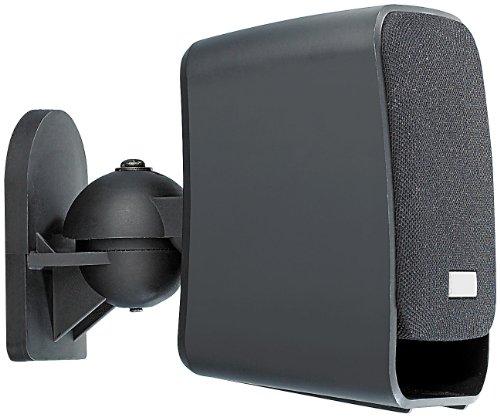auvisio Kompakt-Halterung für Satelliten-Lautsprecher im 4er-Pack - 3