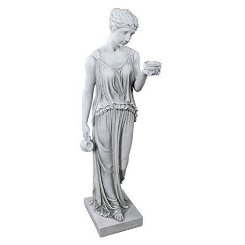 Design Toscano Hebe, Göttin der Jugend, Figur: Groß - Griechische Skulptur