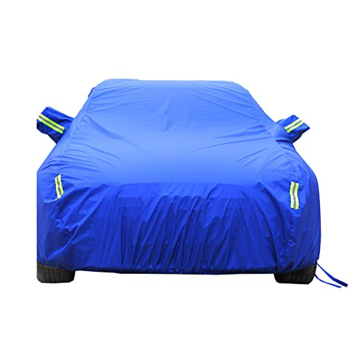 CAOYU Car Hood Car Waterproof Cover, Full Size Car Cover, Universal, Rugged, for Outdoor (Color: A, Size: Toyota Corolla)