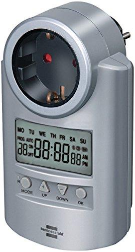 Eurosell Zeitschaltuhr Digtal Innenbereich 1 Minute - 3500 W - Schutzkontakt