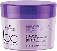 Schwarzkopf Professional Bc Keratin Smooth Perfect Treatment, Purple, 200 ml