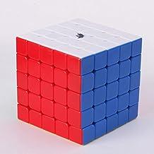 Cyclone Boys Magic Cube 5x5x5 Stickerless Speed Puzzle Cube