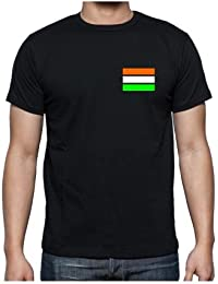 TYYC Proud Indian Mens T-shirt With Back Print, Independence Day Republic Day Indian T-shirt For Men