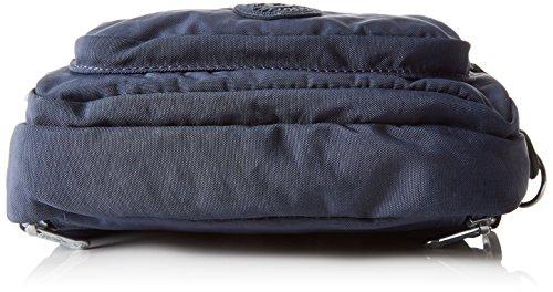 Kipling Multiple, poche Femme, 20x13x7.5 cm Bleu (42W Alaskan Blue)