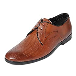 Bacca Bucci Men Tan PU Formal Shoes
