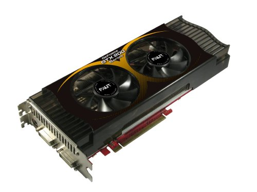 Palit Nvidia GeForce GTX260 Sonic Grafikkarte (PCI-e, 896MB GDDR3 Speicher, 448 Bit, 2X DVI, TV-Out, 1 GPU) - Nvidia Geforce Gtx 260