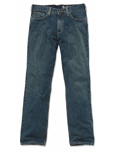 Relaxed Straight Jeans (Relaxed Fit Denim)