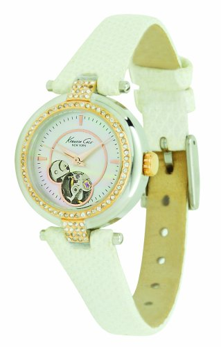 kenneth-cole-new-york-womens-kc2529-blush-hour-automatic-leather-watch