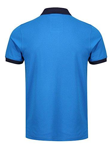 LUKE SPORT Herren Poloshirt Bright Mid Blue