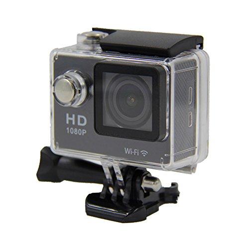 Trendyest 5,1cm 12MP Wifi Full HD 1080P Wasserdichte Action Sport-Kamera Mini DV