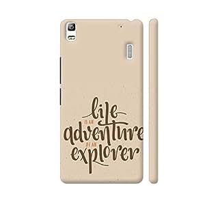 Colorpur Life Is An Adventure Be An Explorer Artwork On Lenovo A7000 Cover (Designer Mobile Back Case) | Artist: Astha