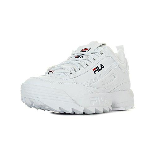 Fila Zapatillas para Mujer, Blanco (White 1010302/1fg), 38 EU