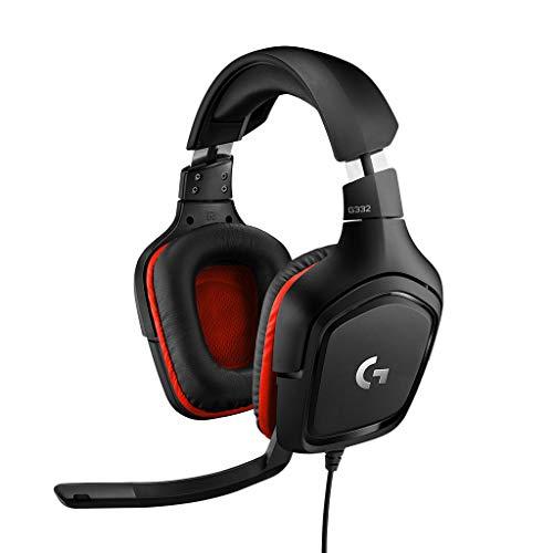 Logitech G332 - Auriculares micrófono estéreo, micrófono