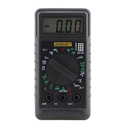 Longsw Mini-Überladungsgerät, digital, zum Schutz der Spannung Ampere, Ohm, Meter, DC AC