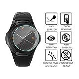 eliaSan Home 3pcs Hartglas Displayschutzfolie für Ticwatch S2 Smart Watch Härte HD Anti-Scratch blasenfreie Glasscheibe