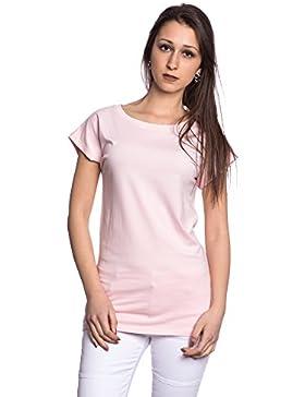 [Sponsorizzato]Abbino J110 Magliette Top Ragazze Donne - Made in Italy - 6 Colori - Mezza Stagione Transizione Primavera Estate...